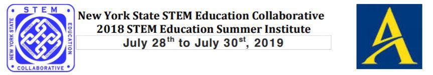 2019 STEM Institute – Presentation Topics – NYS STEM